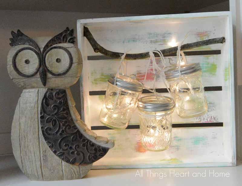 Mason Jar Light
