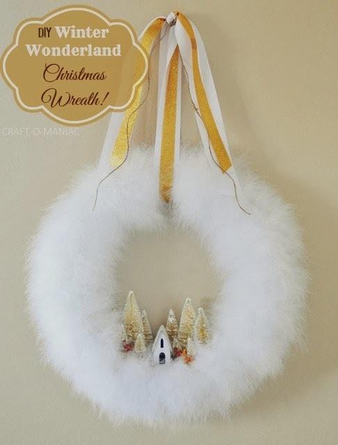 Winter Wonderland Christmas Wreath