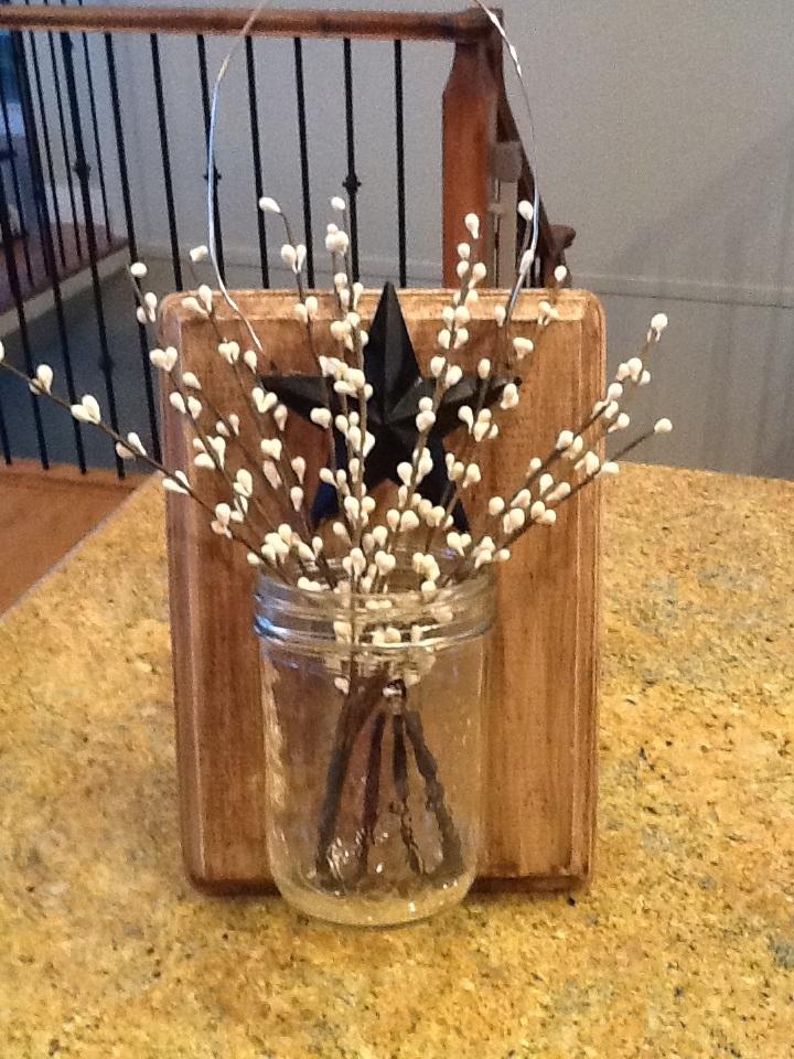 Winter Mason Jar Holder ? Dragonfly Designs