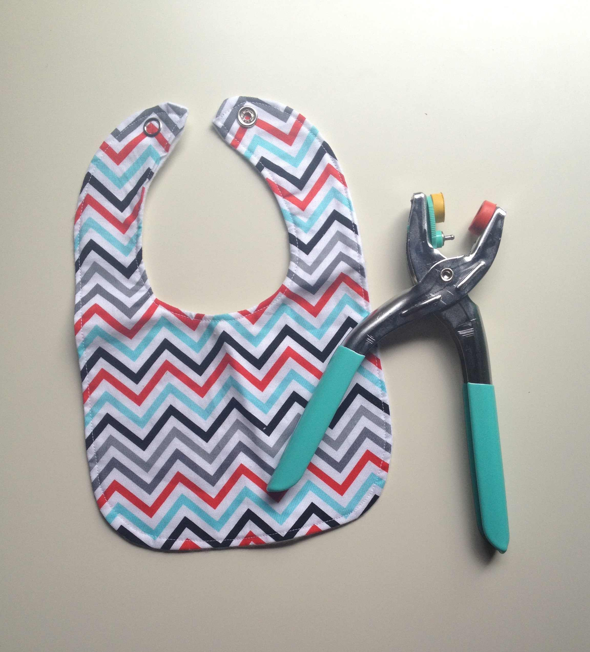 How To Tuesday Baby Bib With Metal Snaps