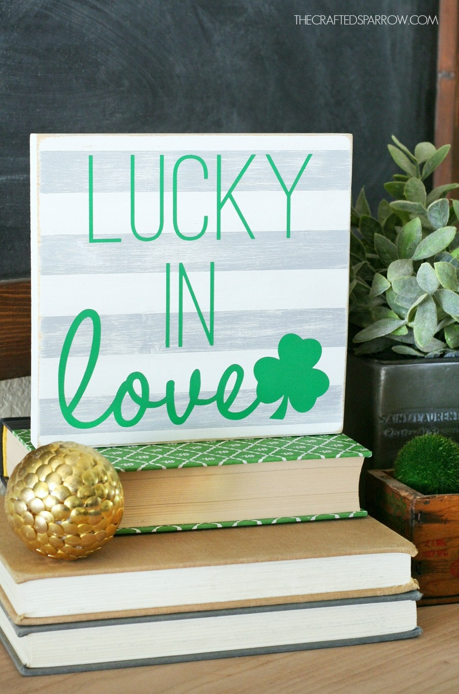 DIY St. Patrick's Day Sign