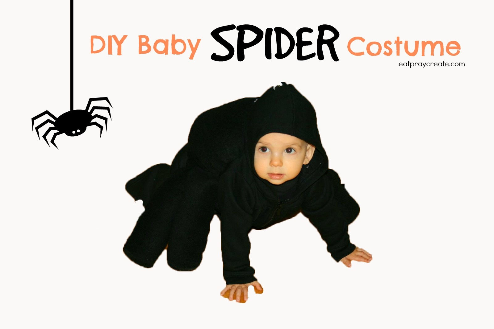 DIY Baby Spider Costume