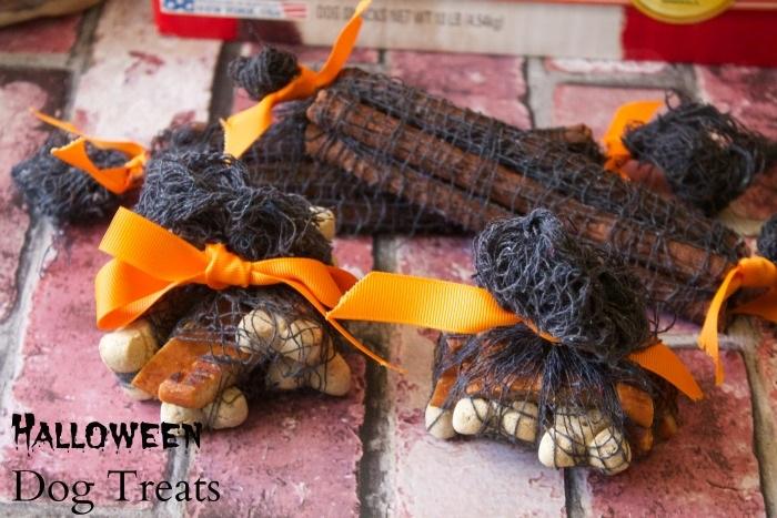 Halloween Doggie Goodie Bags DIY Craft