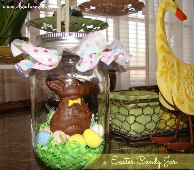 DIY Easter Candy Jar