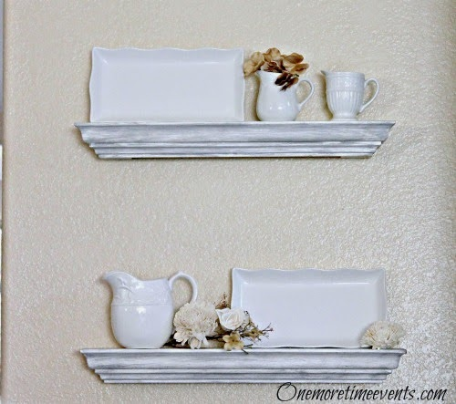 How to hang a floating Shelves
