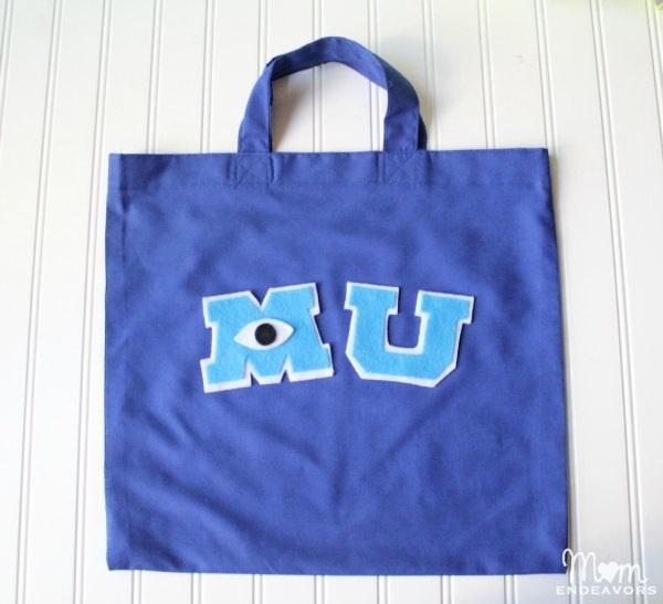 DIY Monsters University Trick Treat Bag