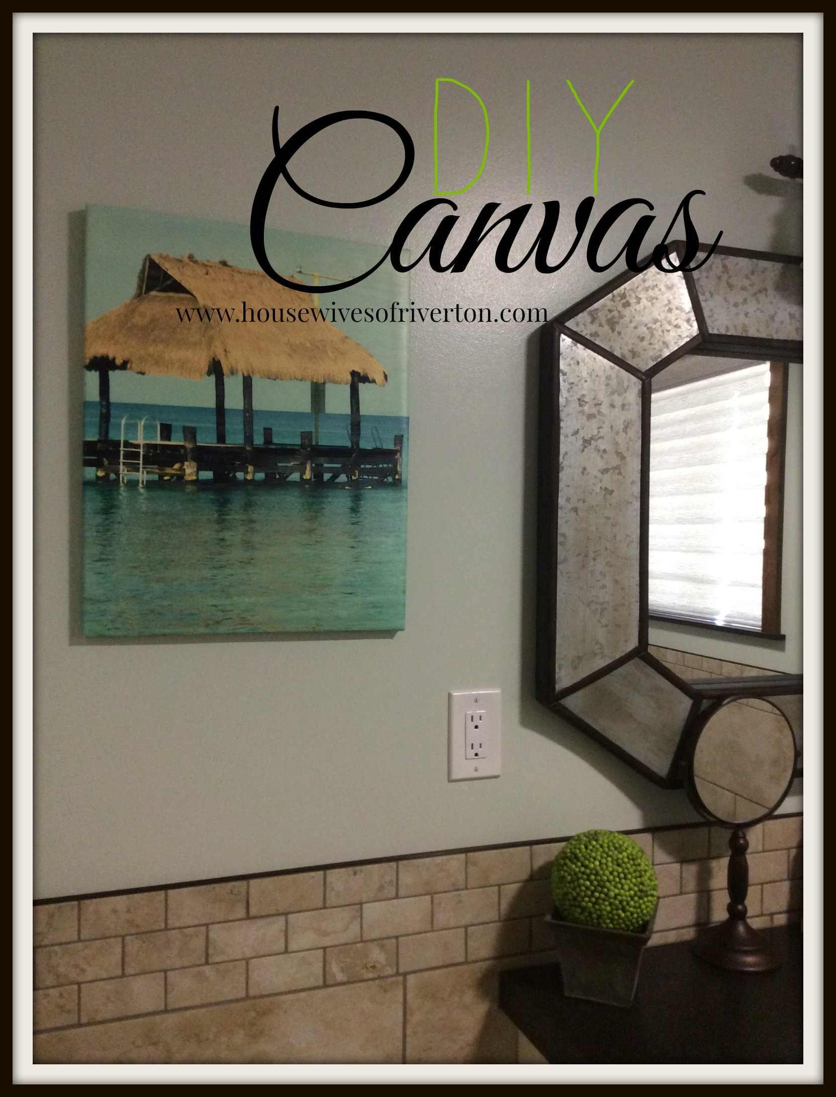 DIY Canvas Picture