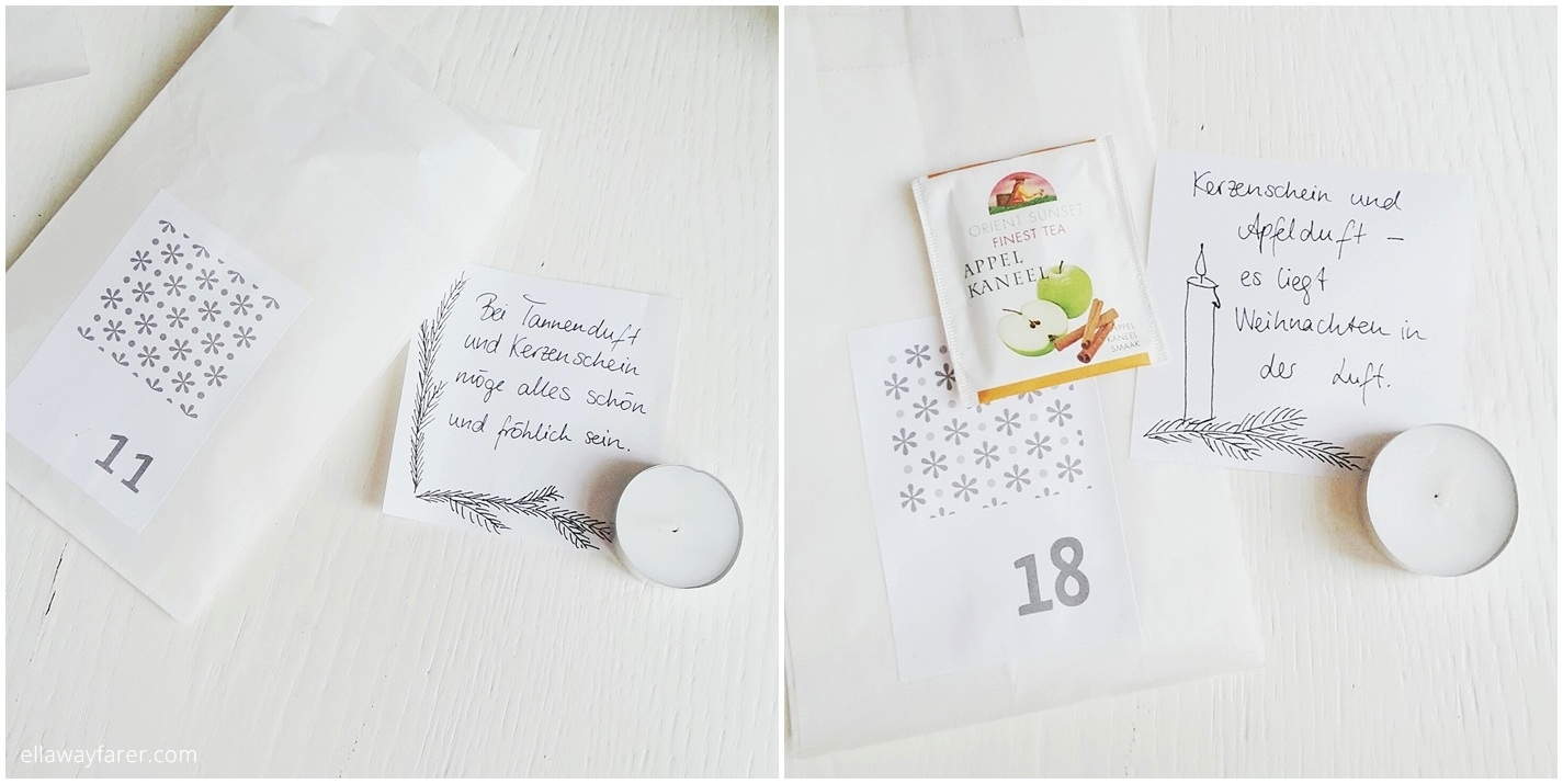 DIY Last Minute Advent Calendar