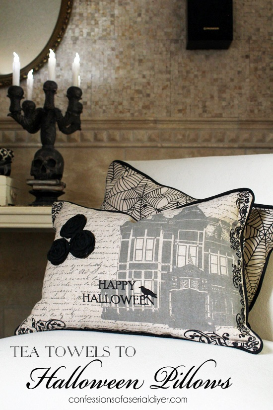 From Tea Towels to Halloween Pillows