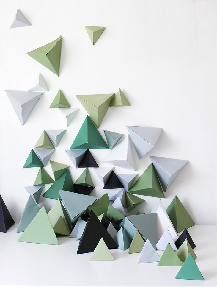 DIY Triangle Backdrop