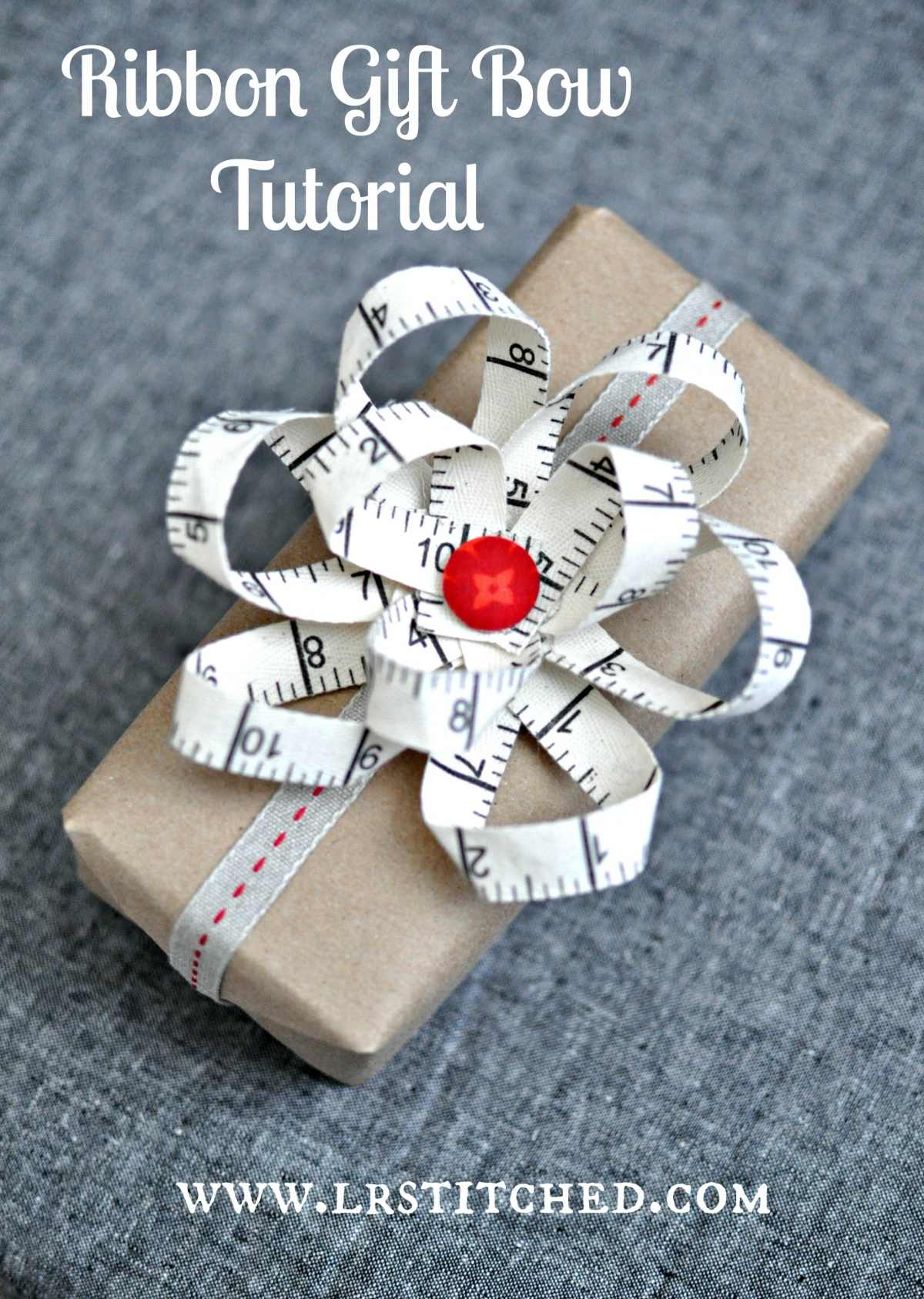 Tutorial Ribbon Gift Bow