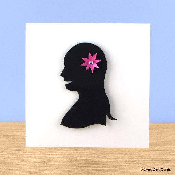 Craft a flower girl card
