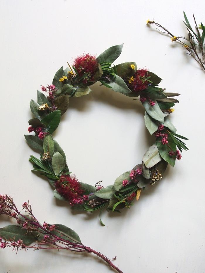 Make it! Easy Peasy DIY Native Flower Wreath
