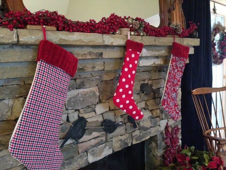 DIY Christmas Stocking Let's Get Crafty!