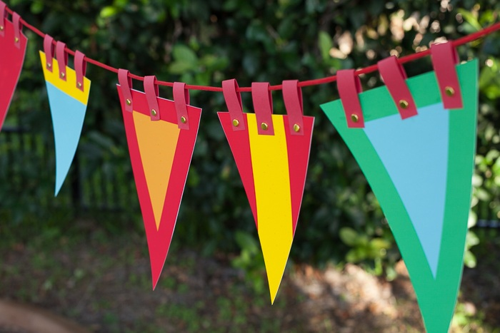 Fancy Party Bunting Banner Tutorial