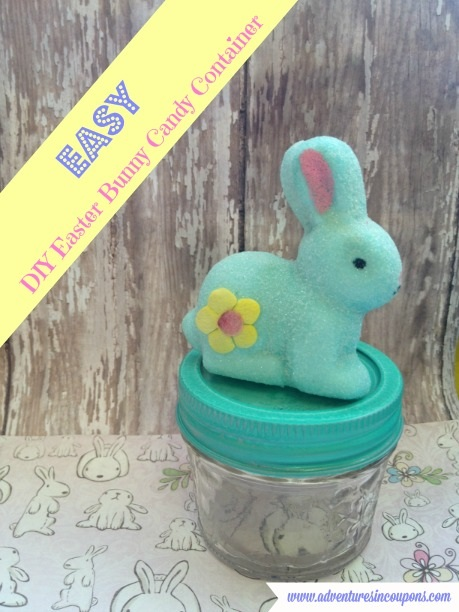 Easy DIY Easter Bunny Candy Container Easy Kid Friendly Easter Craft!