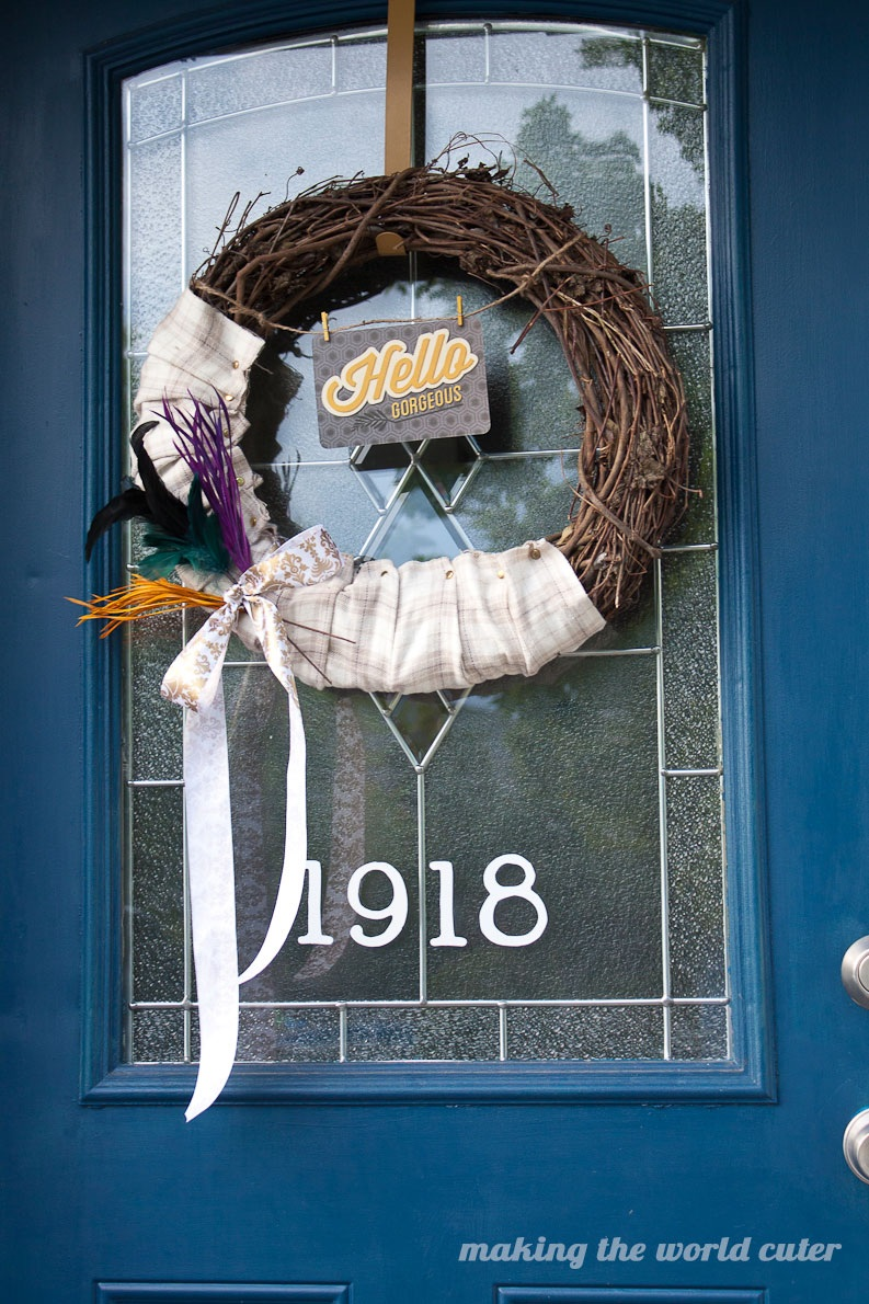 Hello Gorgeous! Fall Wreath