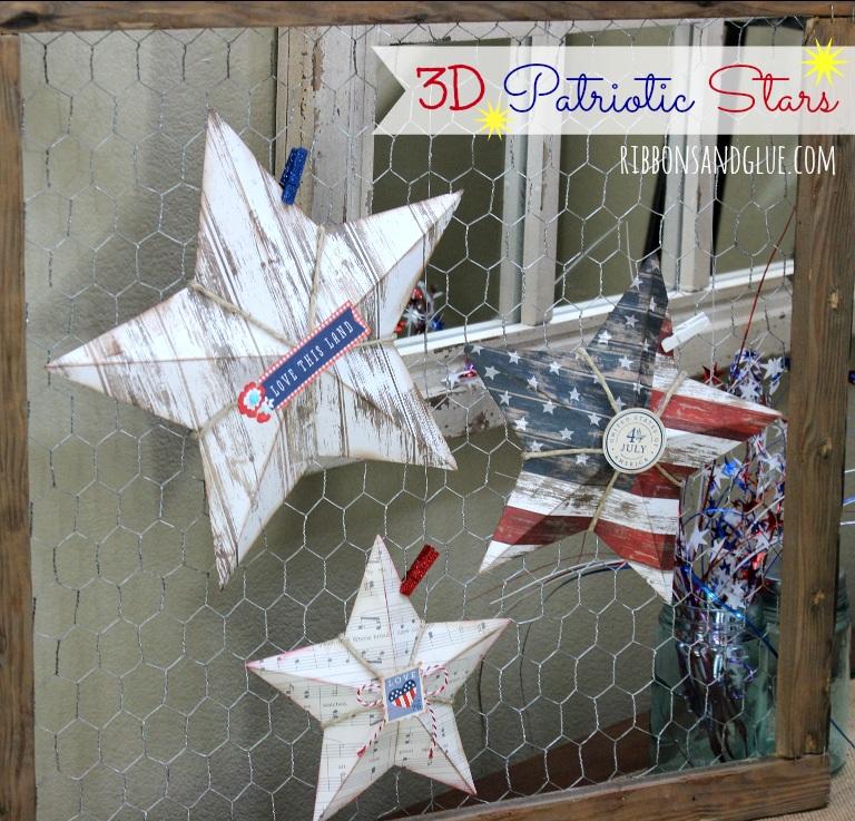 3D Patriotic Star Tutorial
