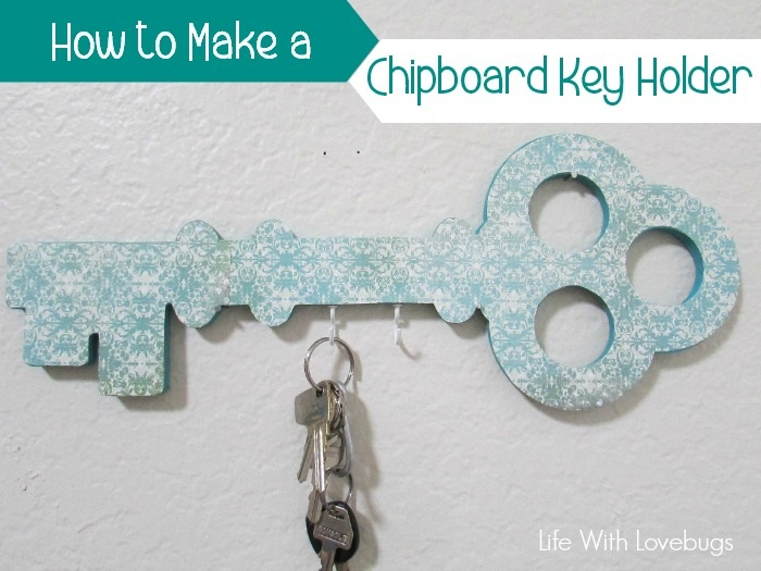 How to Make a Chipboard Key Holder