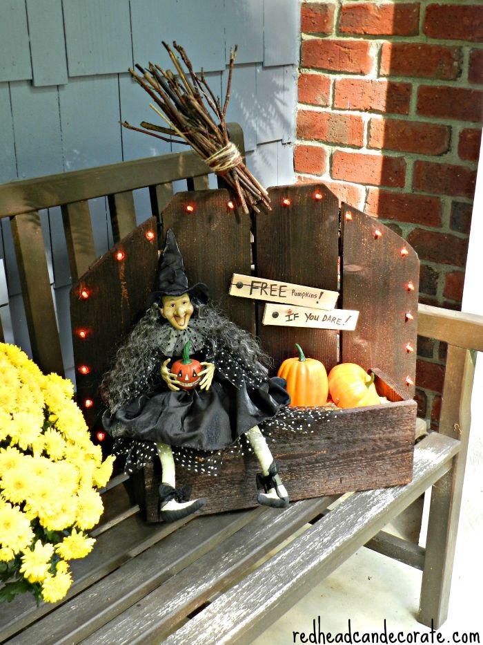 Rustic Pumpkin Stand