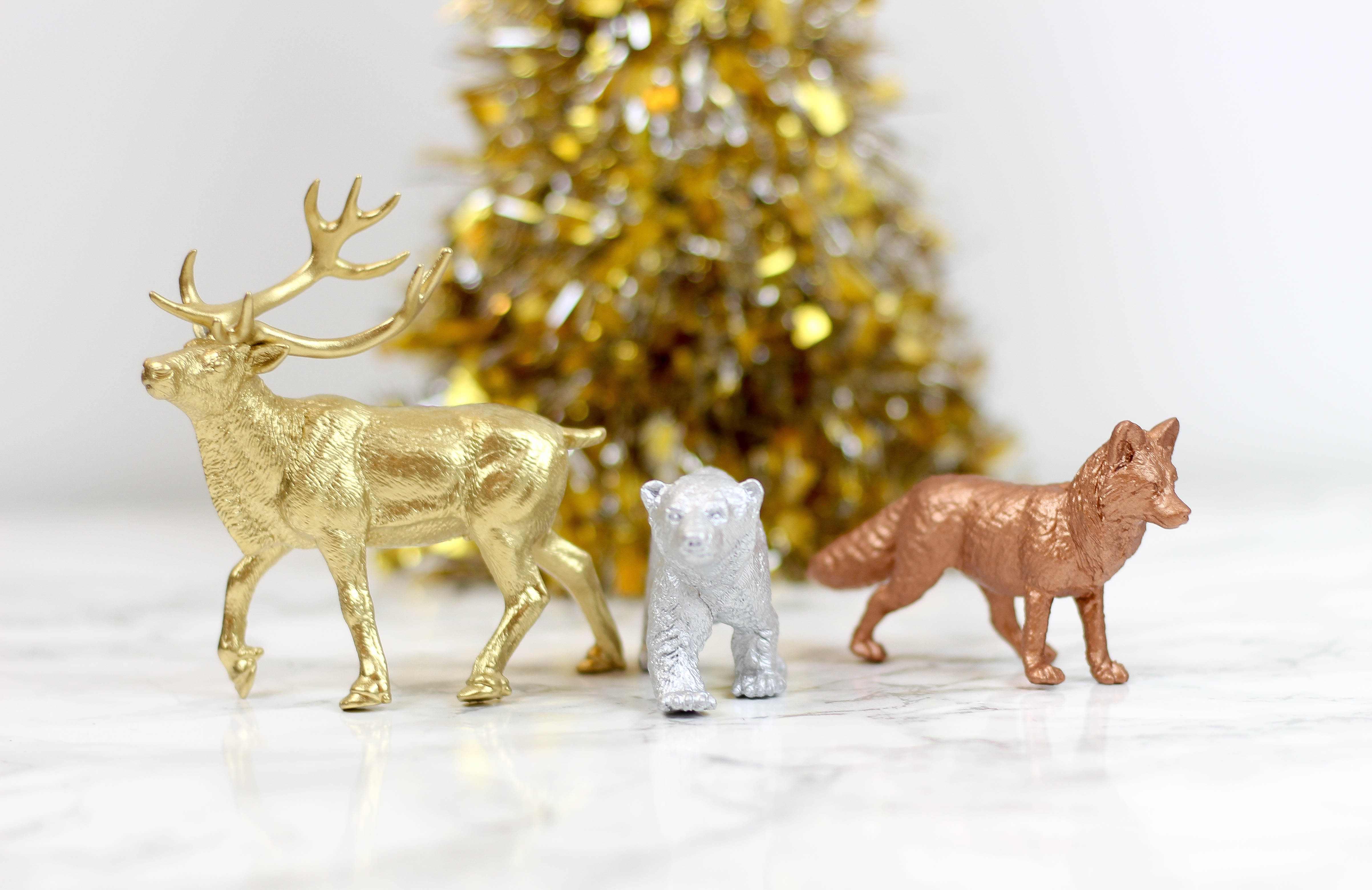 Target Hack Metallic Animal Decorations