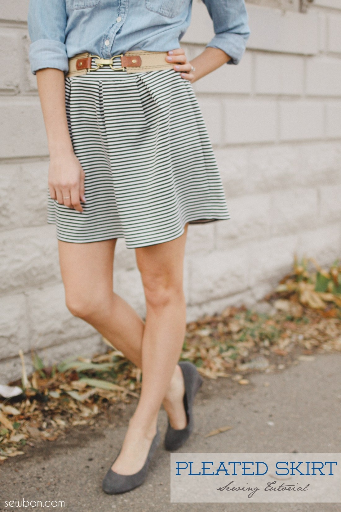 Knitting Skirt Tutorial : Tutorial pleated knit skirt craftsmile