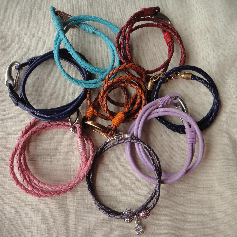More (leather) bracelets