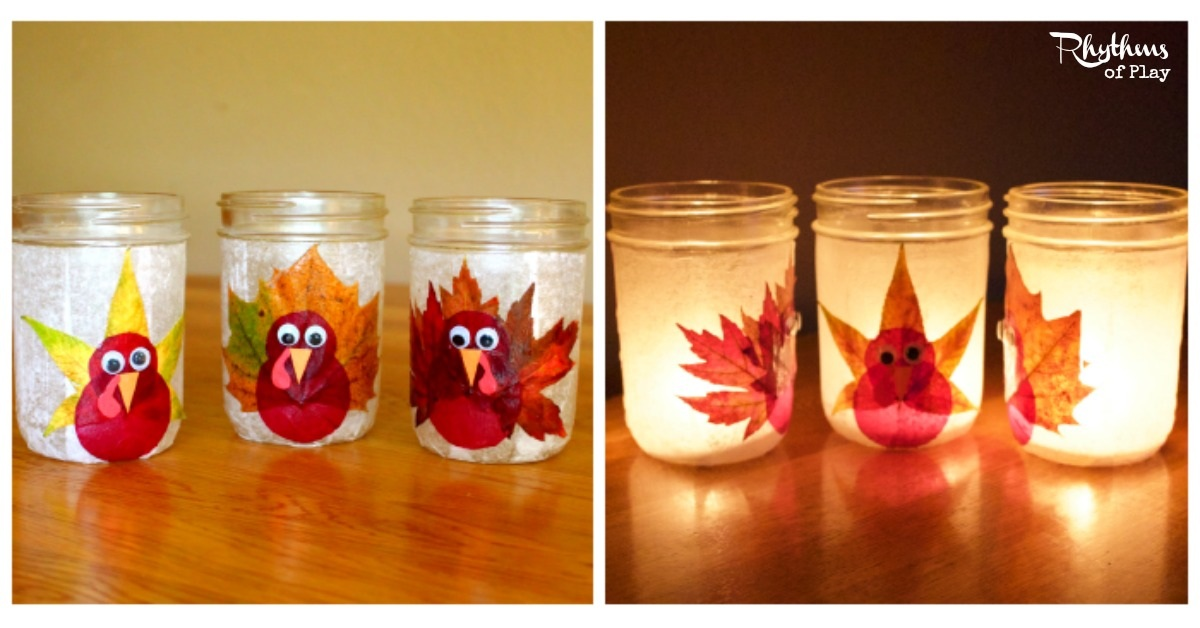Turkey Leaf Lanterns