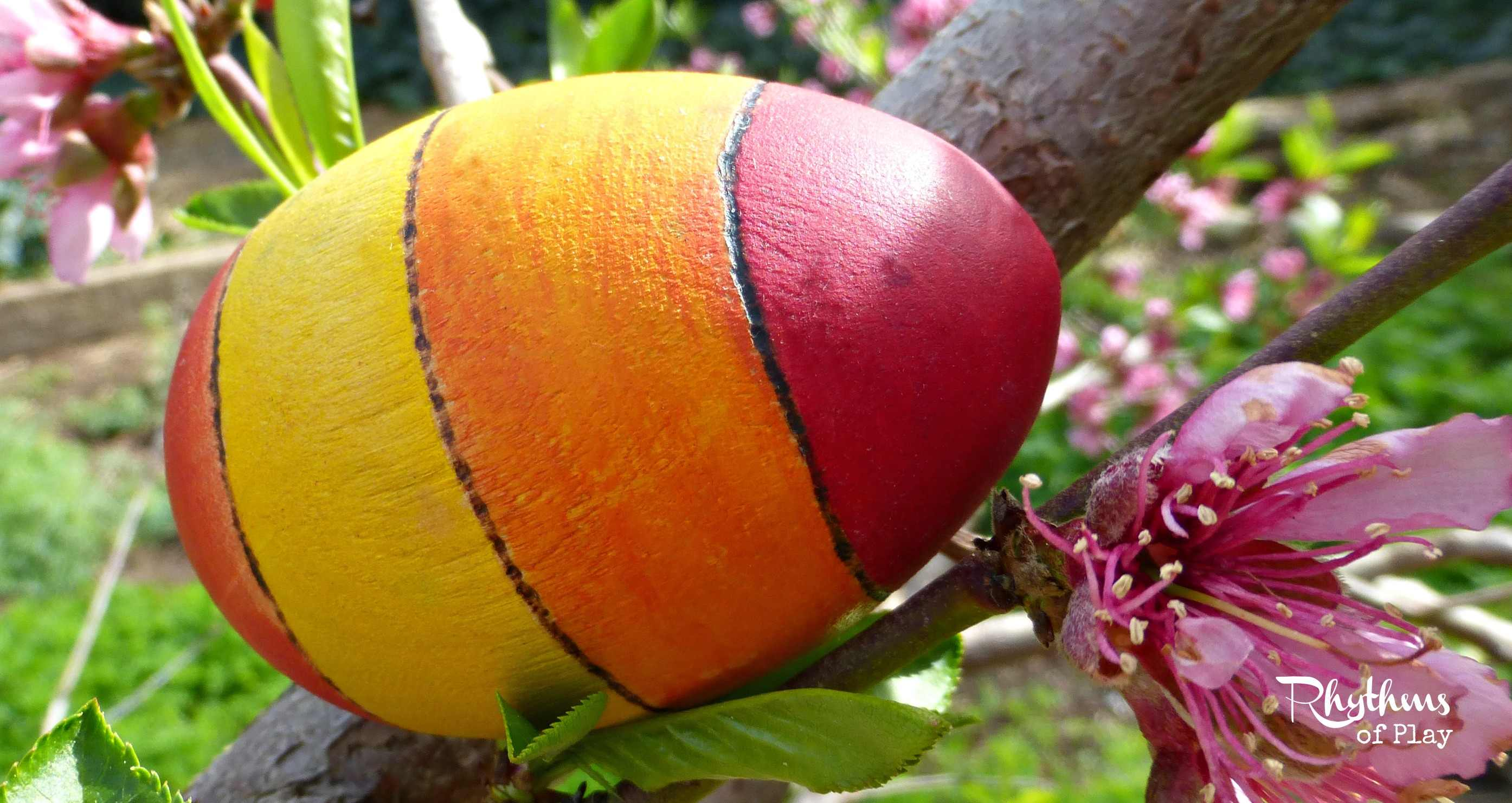 Woodburn & Watercolor Eggs An Easy DIY Craft