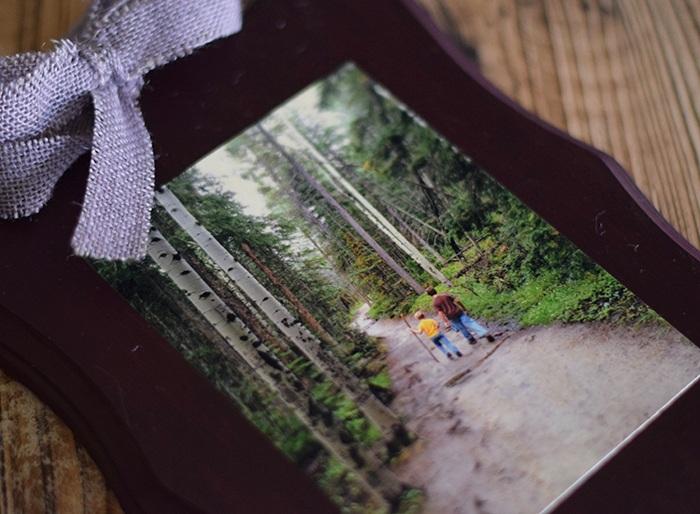 Mod Podge Your Memories Photo Plaque Craft